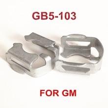 4 pièces GB5 103 injecteur de carburant Clips de fixation en métal au prix dusine pour G M remplacement de voiture (MC508)