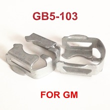 4pcs GB5 103 Fuel Injector Metal Fastener Clips at factory price For G M  Car Replacement  (MC508)
