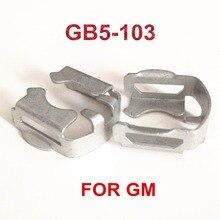 Clips de fijación de Metal para inyector de combustible de GB5 103, a precio de fábrica, para reemplazo de coche G M (MC508), 4 Uds.