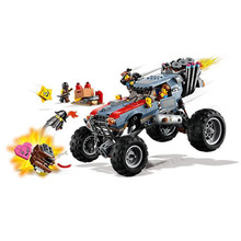 45008 Movie Emmet and Lucys Escape Buggy Model Building Block 616pcs Bricks Toys Gift Compatible With Bela 70829