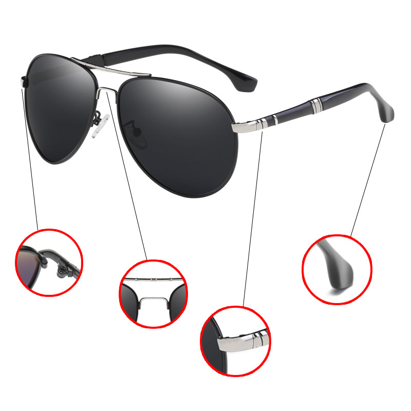 e51b031fae BANNED 1976 Aluminum Magnesium Driving Sun Glasses Men s Classic Brand  SunglassesBrand Designer Polarized Sunglasses-in Sunglasses from Apparel  Accessories ...