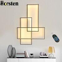 Современный светодиодный настенный светильник, минималистичный алюминиевый светильник для гостиной, спальни, настенный светильник, насте