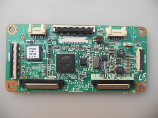 LJ41-08387A LJ92-01705A Good Working Tested used board for logic board lj41 08387a lj92 01705 working good