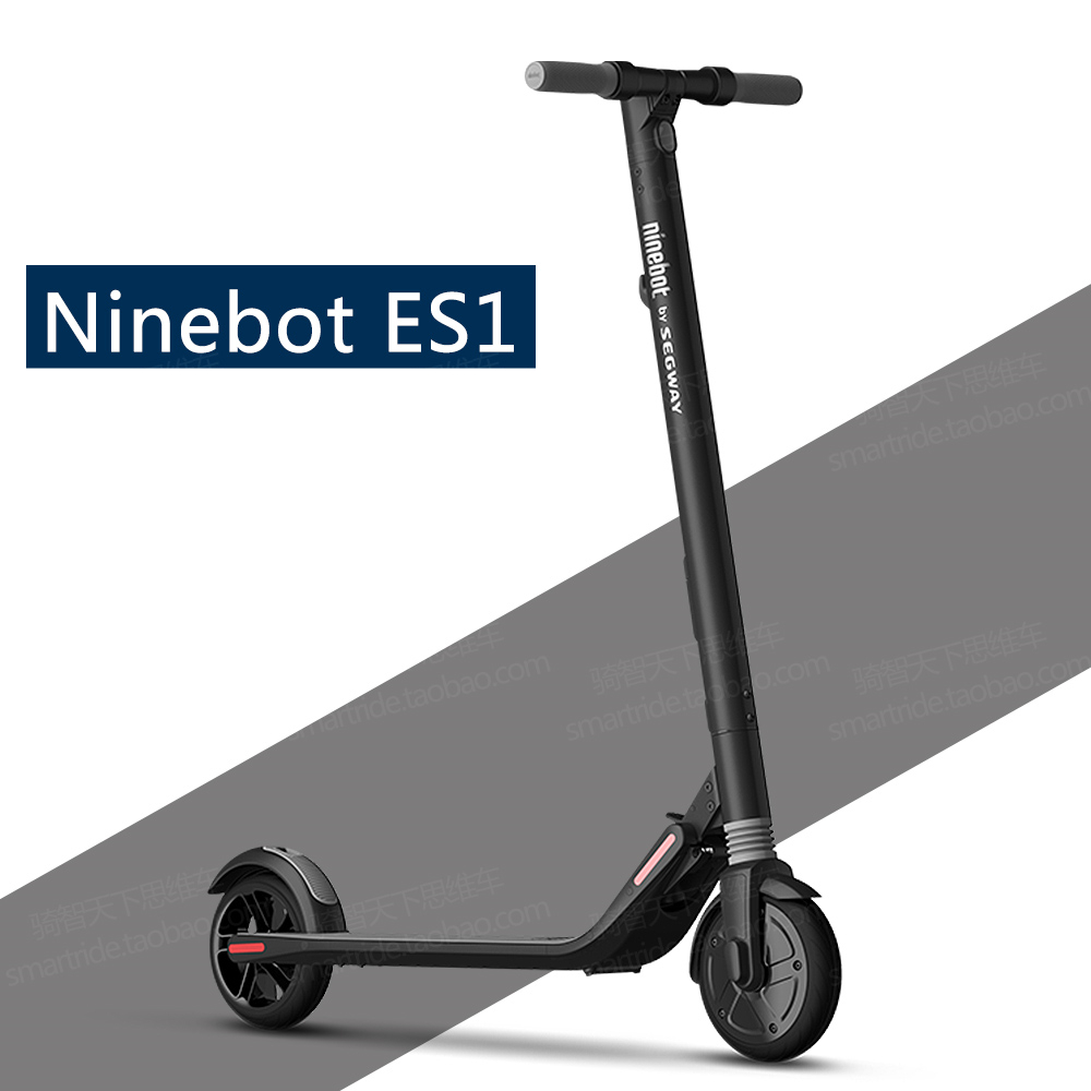 Ninebot KickScooter ES1 Smart Electric Scooter foldable lightweight long board hover board skateboard upgrade from xiaomi M365