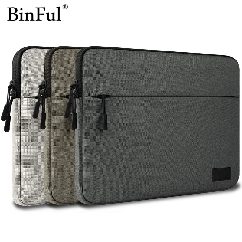 Binful <font><b>Notebook</b></font> Bag <font><b>15</b></font>.6,14,13.3 for <font><b>Xiaomi</b></font> Asus Dell HP Lenovo MacBook Air Pro 13 Protect Computer <font><b>Case</b></font> Laptop Sleeve 11,13,<font><b>15</b></font> image