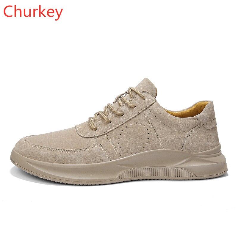 Sneakers Mens Shoes Genuine Leather Man Men Fashion Spring/Autumn Woman