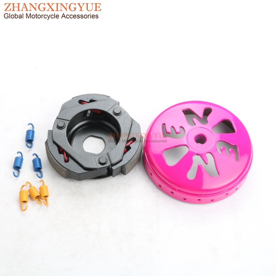Performance clutch bell & clutch for KYMCO Like People S 125cc 200cc Movie S XL People GT Super 8 125cc 4-stroke Scooter цены онлайн