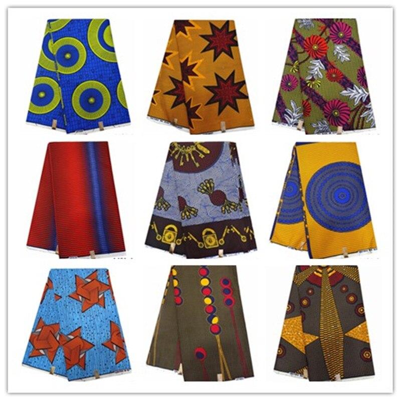 Lasted ankara african print 100% Polyester wax 2019 fabric 1401