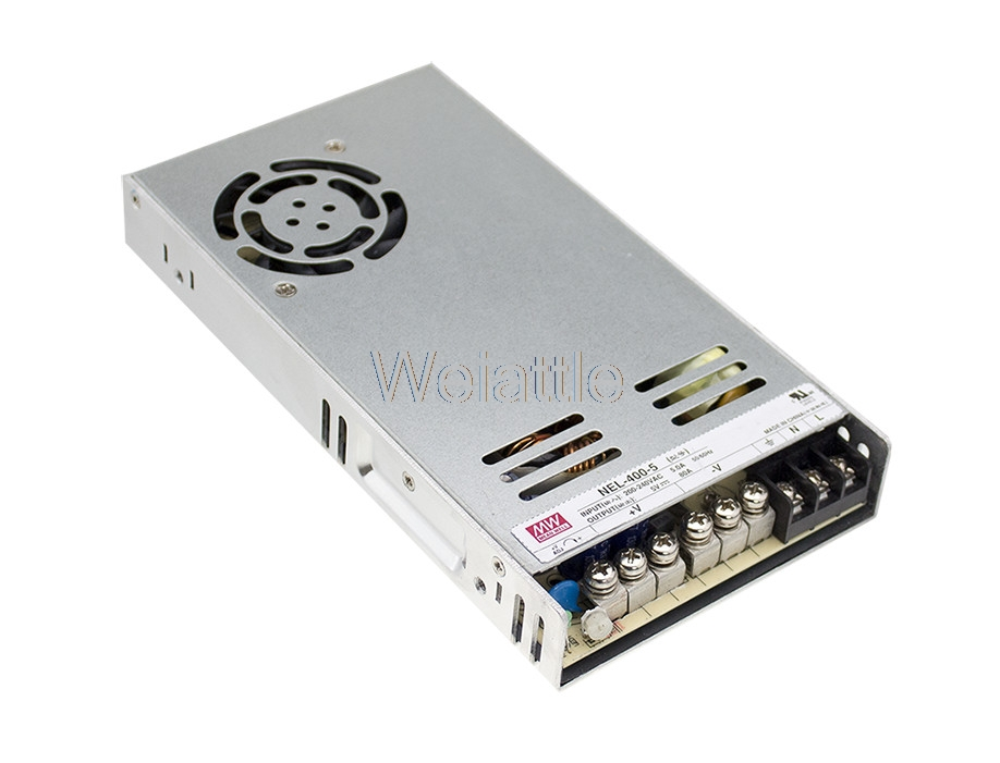 MEAN WELL original NEL-400-5 5V 80A meanwell NEL-400 5V 400W Single Output Switching Power Supply 600w 5v 80a single output switching power supply