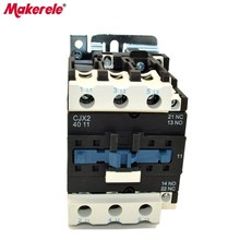 цена на CJX2-4011  AC Contactor 40A 3 Phase Coil Voltage 380V 220V 110V 36V 24V 3P+1NO+1NC 50/60Hz Din Rail Mounted AC Contator