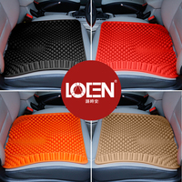 LOEN Summer Breathable 3D Silica Gel Seat Cushion Skin Friendly Massage Mat For Car Office Chair