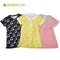 Acitonclub Baby Girls Dress Kids Cardigan Spring Knitting Sweater Cherry Print Children Cotton Wool Sweater/Dress Baby Clothes