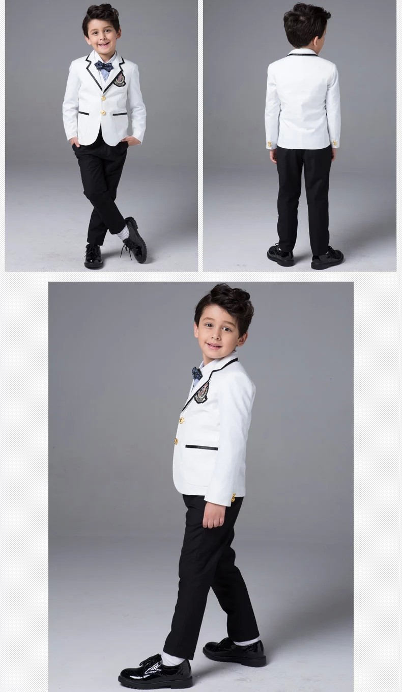 Jonathan Strong Boy's Black Tuxedo Suit Set with White Tuxedo Shirt. Sold by Sears. $ $ Dockers Infant & Toddler Boys' Suit Coat, Dress Pants, Shirt & Bow Tie - Plaid. Sold by Sears. $ $ Dockers Boys' Suit Coat, Dress Pants, Shirt & Bow Tie - Plaid. Sold by Sears.
