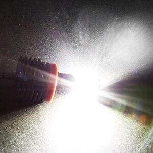 Image 2 - 2 قطعة H8 LED عيون الملاك الحلقات المضيئة 120 واط لسيارات BMW E60 E61 E71 E70 LCI E90 E91 X5 ملاك العين العلوي LED مصابيح أمامية للسيارات