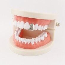 В Стиле Хип-хоп, золотые зубные грили, верхние и нижние грили, зубные губки в стиле панк, колпачки для зубов, косплей, вечерние, зубные рэпперы, ювелирные изделия, подарок