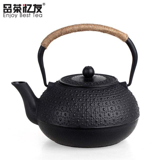 f691193deb US $104.4 10% di SCONTO Alto Rapporto Prestazioni prezzo Giapponese Ghisa  Teiera di Ferro Bollitore Kung Fu Tea Set 1800 ml Spedizione Gratuita in ...