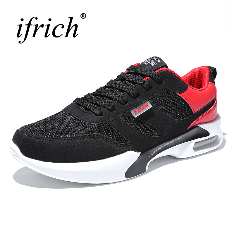 2017 New Sport Runing Shoes Men Black White Walking Sneakers Mesh Breathable Athletic Shoes Spring Summer Walking Runners