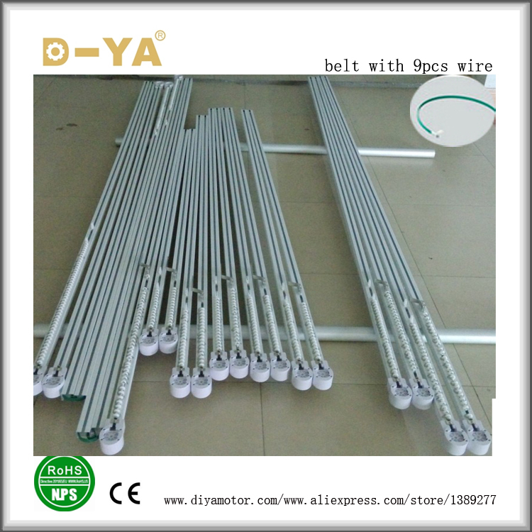 Curtain Carrier with wheel Opt Rollers for Hospital Cubicle Track 50pcs FL USA