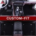 Высококачественные автомобильные коврики под заказ для Infiniti QX70 FX FX35 FX37 QX56 QX80 QX50 M25 QX30 Роскошные Всепогодные коврики для гильз