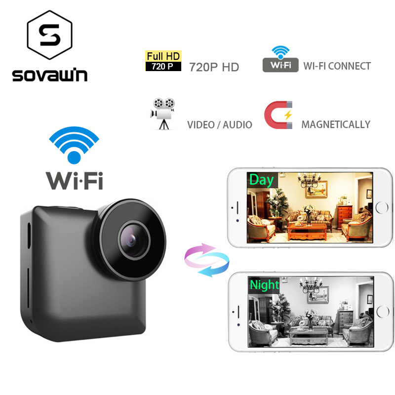 Mini ip Camera Wifi 720p Outdoor HD Sport Night Vision DVR DV Wireless P2P Small Car