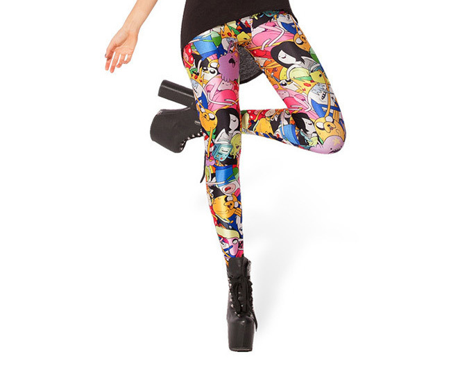 Neue charater cartoon frauen legging damen leggings jeggings frau - Damenbekleidung - Foto 4