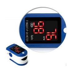 STRIKATE Finger Clip Blood Oxygen Meter Instrument Pulse Oximeter LED Household Digital Sleep police