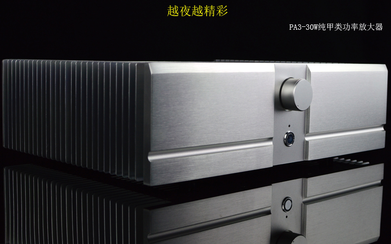 PA3-30W*2 Pure class A Power amplifier Based on PASS A3 circuit power amplifier name machine b 108 circuit no big loop negative feedback pure post amplifier hifi fever grade high power 12 tubes