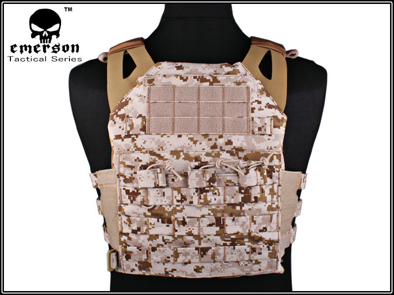 EMERSON JPC Vest Jumper carrier simplified version Tactical Vest AOR1 Airsoft Painball Military Army Combat Gear 7344E combat army bdu emerson military airsoft painball coyote olive em6905