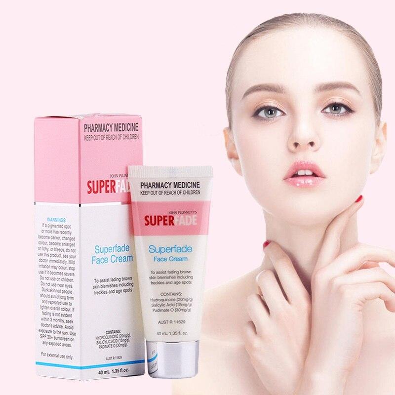 Australia Superfade Powerful Fading Face Cream 40ml for Pigmentation Dark Hormone Marks Age Spot Remover Pigment