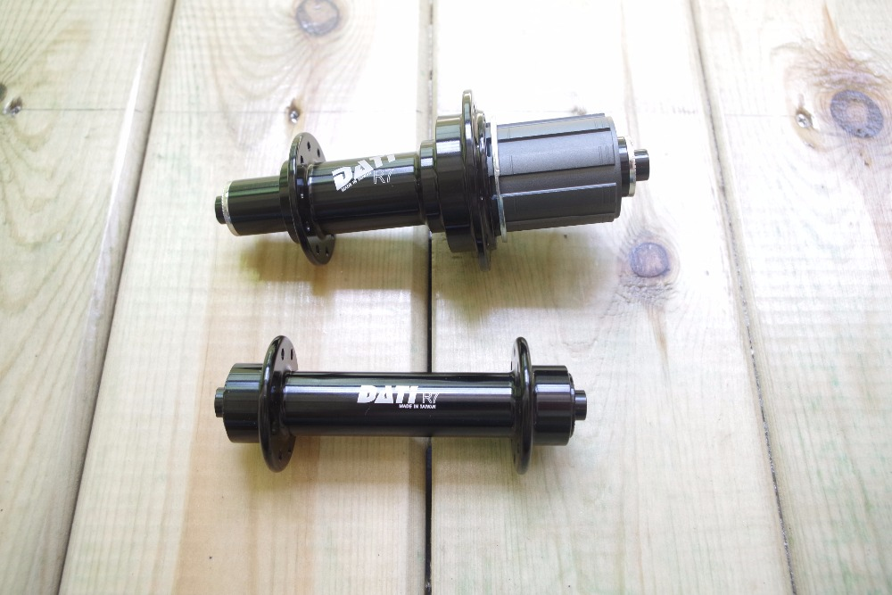 Super Light 16 20H 20 24H J Bend Hook Hubs DATI R7 Bicycle Hubset Black 74mm