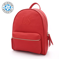 Fashion women small cow genuine leather backpack men schoolbag male sac a dos school bags for girls female mini backpacks