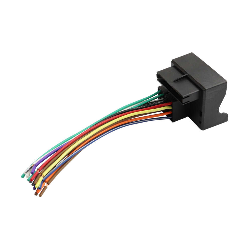 hight resolution of  radio adapter wire harness connector for bmw audi vw mercedes cars wiring cable adapter