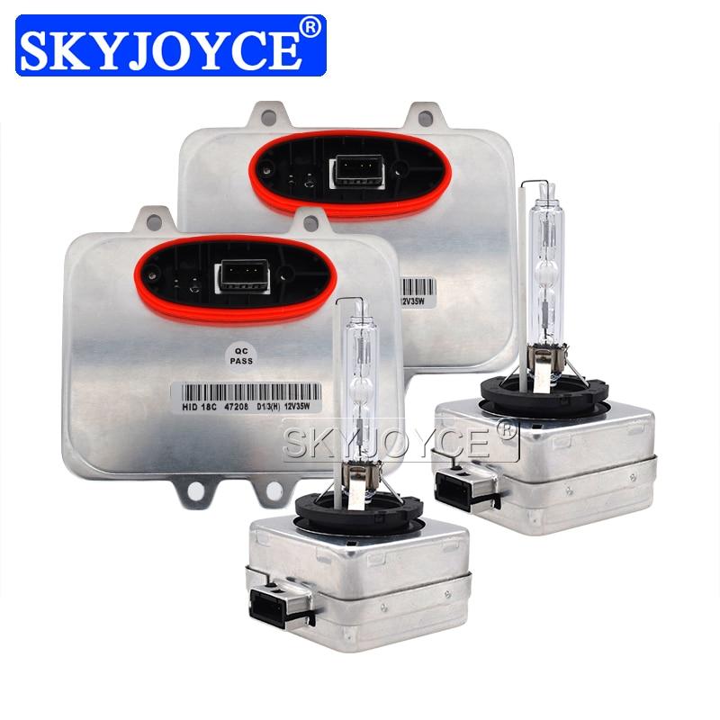 SKYJOYCE Original 35W Xenon D1S HID Headlight Kit 4300K 5000K 6000K Car Headlamp Bulb Kit Xenon