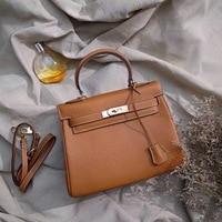 Женская сумка с кожей сумка, Слои, одного плеча косой через женские по дороге на работу
