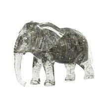 Горячая Распродажа Высокое качество Кристалл Милая модель слона DIY гаджет блоки забавная игрушка подарок Горячая Распродажа RE3
