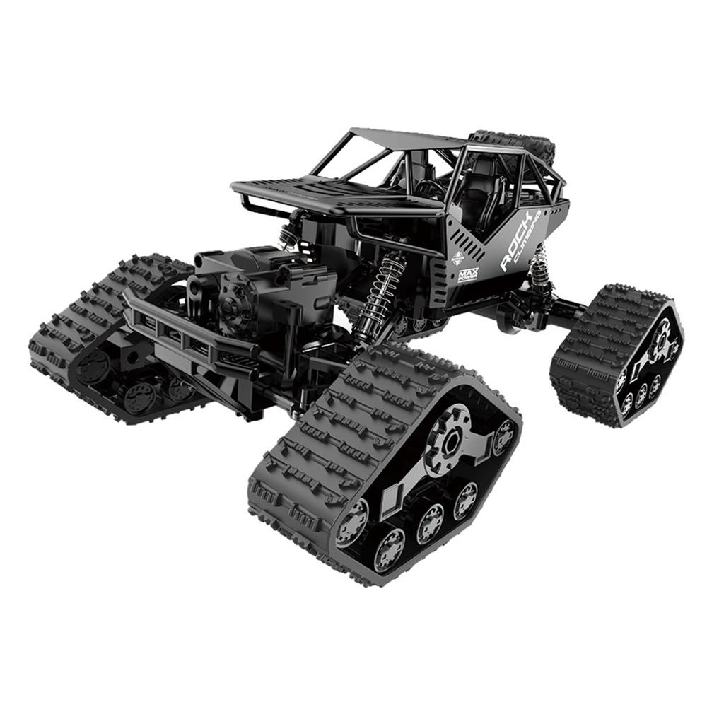 Image 2 - 1/16 Four wheel Drive Alloy Track Off road Remote Controll Climbing Car LH C012-in RC Cars from Toys & Hobbies