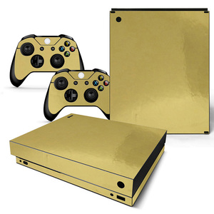 Image 4 - Vinyl Skin For Microsoft XBOX ONE X Console  and Controllers Sticker Cover Skins For X box One X Decal