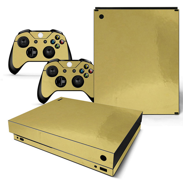 Vinyl Skin Voor Microsoft Xbox One X Console En Controllers Sticker Cover Skins Voor X Box One X Decal