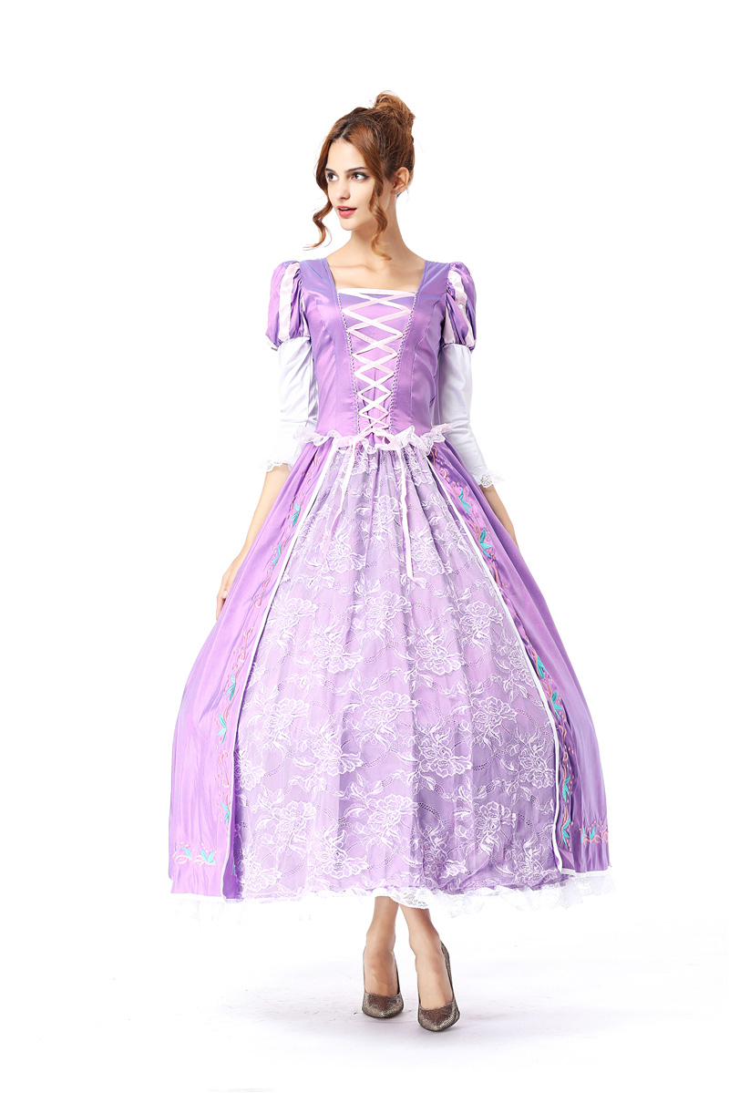 Cinderella Dress Princess Sophia Costume Woman Sexy Halloween Costumes For Women Adult Purple Fancy Cosplay Costume Dresses Home