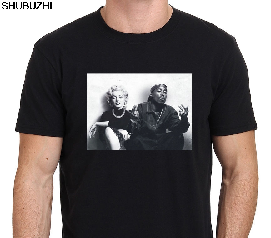 Mode-design Freies Verschiffen Legends Tupac Marilyn Monroe 2pac Männer Crew Neck Short-hülse Druck Maschine T Shirts Sbz137 GroßEr Ausverkauf Schmuck & Zubehör