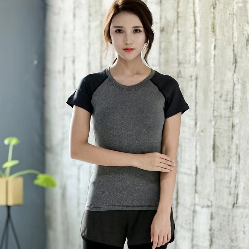 Women Yoga Shirts Fitness Running Sport T-Shirt Short Sleeve Cycling Gym Tops Quick Dry Breathbale Tee Shirt Sportswear Yoga