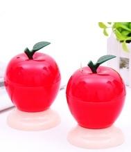 Творческий п . п . автоматическая зубочистка мода яблоко форма зубочистка держатели украшение стола кухня инструмент Z0661