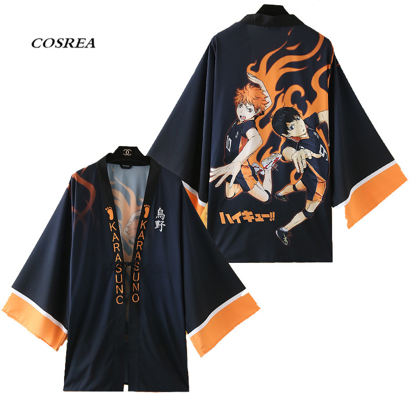 Anime haikyuu!! Cosplay Costume Hinata Syouyou Cosplay Cotton,Spandex  Cloak  For Adult Women/Men Carnival/Show/Party/Sport D80
