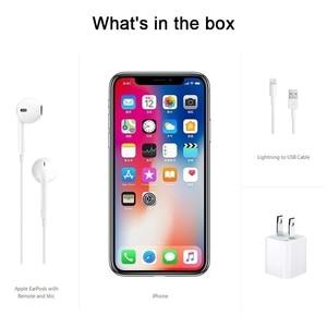 Image 5 - Original Apple iPhone X Face ID 5.8 inch 3GB RAM 64GB/256GB ROM Hexa Core iOS A11 12MP Dual Back Camera 4G LTE Unlock iphonex