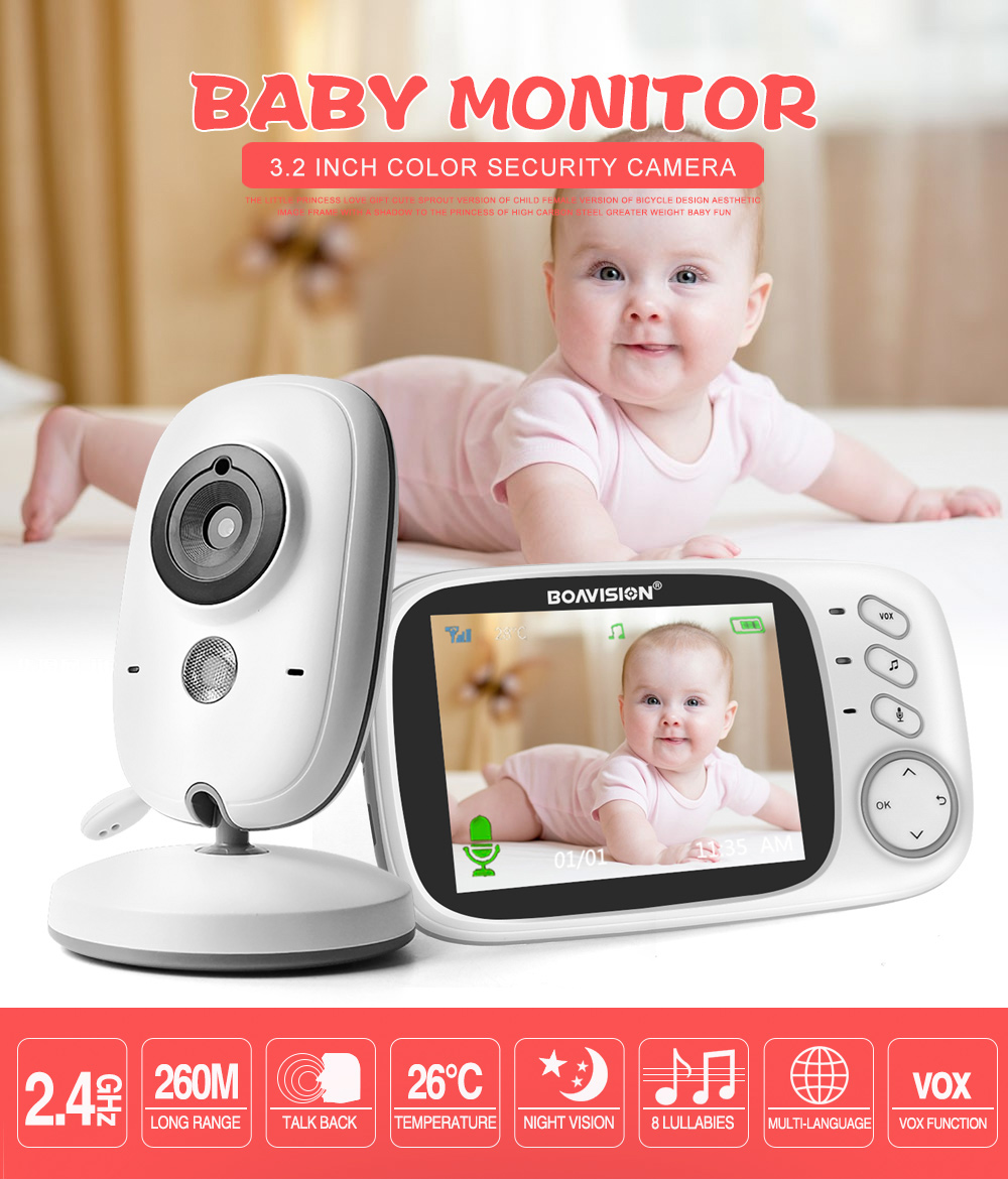 01 Wireless Baby Monitor