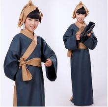 (0186) New classic costume Hanfu nunnery Ancient Chinese Literature Search disciple costumes children ancient students cosplay le disciple
