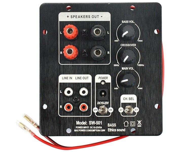 2 1 Digital Subwoofer SMD Integrated Amplifier Board Independent 2 0 Channel Output Regionalization Functional Amplifier
