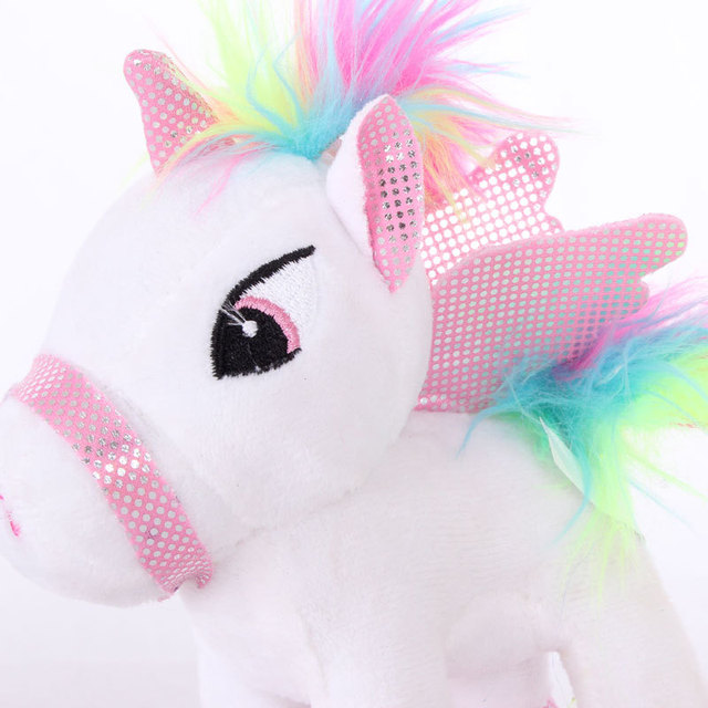 15CM UNICORN PLUSH (4 COLORS)
