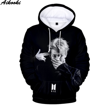 Fashion BTS Hoodies MenWomen Sweatshirt Tops 3D Print BTS Pullovers Harajuku Hooded Kpop Hip Hop Sweatshirts Tops Coats Clothes jung kook bts persona