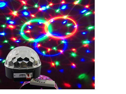 RA-T-03,LED sound stage lights with MP3 and remote controller,with magic ball effect light lamps for KTV wedding